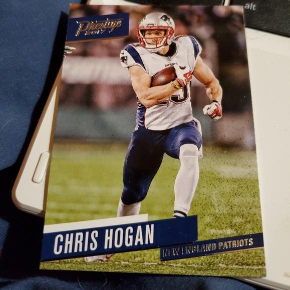 Other | Chris Hogan 38 Football Card | Poshmark